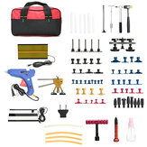 68Pcs PDR Paintless Dent Removal Tools Kit Dent Tapper Extrator T Bar Tap