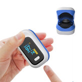 BOXYM YK-80X Mini OLED Finger-Clamp Pulse Oximeter Home Heathy Blood Oxygen Saturation Monitor