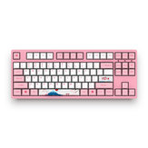 Akko 3087 World Tour - Tokyo 87 Keys USB Sublimation Huano Växla PBT keycaps Mechanical Gaming Keyboard for PC Laptop