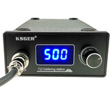 KSGER T12 Soldering Station STM32 Digital Controller ABS Case 907 Soldering Iron Handle Auto-sleep Boost Mode Heating T12-k Tip