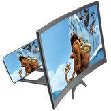 12インチカーブ3D HDスマートフォン用拡大スクリーンムービービデオアンプ6.5インチ以下のスマートフォン用Samsung用iPhone