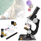 Children's Kids Junior Microscope Science Lab Set met licht educatief speelgoed