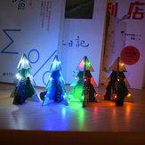 3pcs Geekcreit® Colorful Mini PC SMD 3D Árvore de Natal estéreo Kit de música DIY