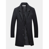 Mid-long Casual Business Trench Jacket