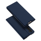 DUX DUCIS Flip Shockproof with Card Slot PU Leather Protective Case for Samsung Galaxy Note 10 / Note 10 5G