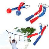 80 كيلوجرام ، تحمل سعة تسلق حبل رود هوك الرياضة في الهواء الطلق معدات التسلق ذراع التدريب الانقاذ رابيلينج