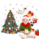 Miico SK9116 Christmas Sticker Cartoon Christmas Tree Wall Stickers Removable For Room Decoration
