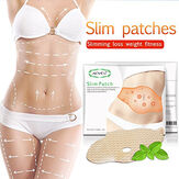 5 Pcs Slimming Stickers Slimming Belly Button Thin Legs Bell
