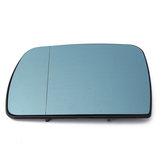 Aile de porte de voiture côté gauche chauffé miroir en verre bleu teinté pour BMW X5 E53 1999-2006