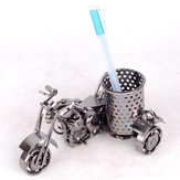 Mettle M46/M46-1 1 Piece Creative Motorcycle Model Pen Holder Metal Iron Crafts Office Ornaments Fashion Office Storeage Tool Furnishing Decorations
