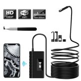 1080P HD Telescopio Wifi Borescope fotografica Serpente semirigido fotografica Boroscopio USB IOS per Iphone Tablet