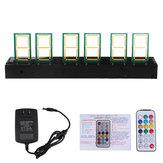 STARK-159 35mm 5V Sześciorurowy żarnik LED Glow Clock Electronic Digital Ds1302 Circuit Board DIY Kit Wyświetlacz czasu