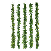 198cm Artificial Ivy Leaf Vine Foliage Green Hanging Garland Plant Home Wedding Decorations