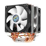 Dissipatore di calore del dissipatore di calore della ventola di raffreddamento CPU a 3 pin 4 per Intel AMD