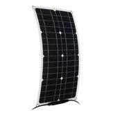 Panneau d'énergie solaire de connecteur du kit MC4 de panneaux solaires semi-flexibles de 60W 12V pour le camp à la maison imperméable