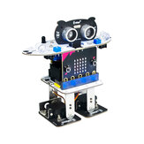 XIAO R Micro:bit Program Obstacle Avoidance Voice Touch Shaking Control Dancing Smart RC Robot