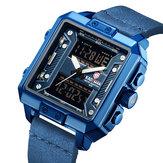 KADEMAN K6153 Waterproof Luminous Display Dual Display Watch