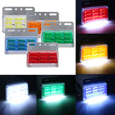 24V 4.8inch Side Marker Lights Trailer Waterproof 49pcs COB Lamp Beads for Truck Bus