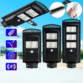 Solar Panel 192/384/576LED Wall Street Light Outdoor Garden Lamp wirh Remote Controller