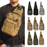 ZANLURE A18 Military Fan Waterproof Multifunctional Tactical Bag Chest Bag Crossbody Bag