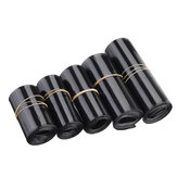 Tubo termorestringente nero in PVC 50/60/70/80/95 mm per RC Lipo Batteria