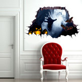 Miico 1101 Halloween Sticker Horror Hand Sticker Adesivo murale Decorazione di Halloween