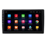 10,1 pouces 2 DIN pour Android 8.0 Autoradio stéréo 2.5D Écran tactile 4 Core 2G + 32G Écran WIFI GPS Navigation AM FM RDS