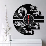 Emoyo EHJ94 Orologio da parete creativo Orologio da parete 3D Orologio da parete al quarzo per decorazioni per l'home office