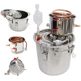 5 Gal Home Alcohol Distiller Moonshine Stainless Steel Water Alcohol Oil Brew Kit