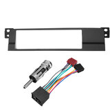Araba Tek DIN CD Radyo Stereo Facia Adaptörü Kap Panel Uydurma Kit BMW E46 99-06