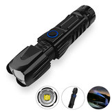 XANES® W69 XHP90/70/50 Zoomable 5 Modes USB Flashlight With 26650 Battery