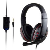 3.5mm + USB Wired Gaming Headphone Heavy Bass Headset for PS4 / XBOX - ONE / PC Professional Computer Gamer
