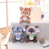 20/30 CM Cute Soft Stuffed Cat Seat Dolls Pillow Cushion Plush Animal Toy for Kids Gifts
