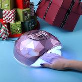 紫色Colorfulネイルランプネイルライト療法機械UVランプ