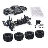ZD Racing Camouflage Color MT8 Pirates3 1/8 4WD 90 km / h Sin escobillas RC Coche Kit sin componentes electrónicos