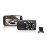 4 Inch Car DVR With Rear View Camera Night Version 1080p Parking Monitoring G-senor 170° Wide-angle