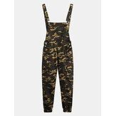 Mens Camo Printed Ankle Lenght Jumpsuits