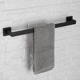 5Types Matte Black Wall Towel Hook Holder Rails Racks Bar Stainless Steel Towel Holder