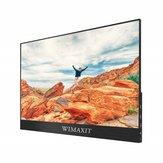 WIMAXIT M1560C 15.6 Polegada 1080P 144 hz Monitor de Computador de Jogos Portátil USB C Tela de Exibição Para Tablet Laptop