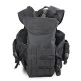 Gilet tactique en nylon camouflage multi-poches randonnée en plein air armée CS gilet de protection sur le terrain