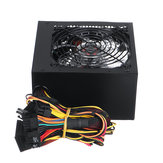 700W Power Supply 12cm Blue LED Fan 24 Pin PCI SATA  12V Computer Power Supply