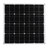 60W Mono Solar Panel USB 12V Solar Power Panels For Car RV Boat Battery Charger
