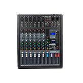 6/812/16 Канал 35 Вт Аудио Микшер Микшерный пульт DJ 99 DSP Эффекты Цифровой USB Bluetooth 48 В Phantom Power Stereo Sound