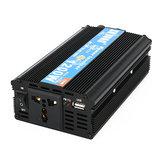 1200W Peak Intelligent Power Converter Power Supply Inverter DC 12V/24V To AC 220V/110V Power Inverter Modified Sine Wave