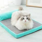 Cama de gato de algodão com memória para animais de estimação Canil removível e lavável médio grande Cachorro Cama de gato Cachorro ninho