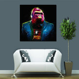 Miico Hand Painted Oil Paintings Colorful Gorilla Wall Art For Home Decoration Painting
