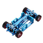 1/28 Mini-q Metal RC Car Frame Upgrade Parts With Differential Tire