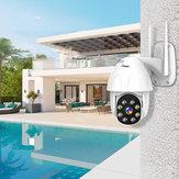 BESDER P08 1080P H.265 Speed Dome Venkovní WiFi bezdrátová IP kamera s naklápěcím obousměrným zvukem IR Vision IP ONVIF Video Surveillance