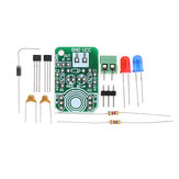 Hall Magnetic Induction Sensor Magnetic Detection Magnetic Pole Resolver North and South Pole Detection Module DIY Kit