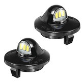 Camioneta pickup de 2 piezas Coche LED Licencia Placa Luces para Ford F-150 Ranger Excursion Explorer